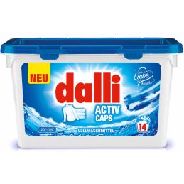 Skalbimo kapsulės Dalli...